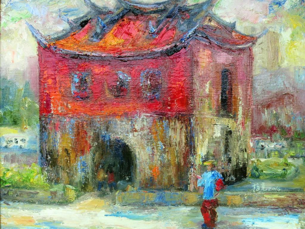 潘柏克(柏克創藝) - 台北北門 Taipei City Wall—North Gate