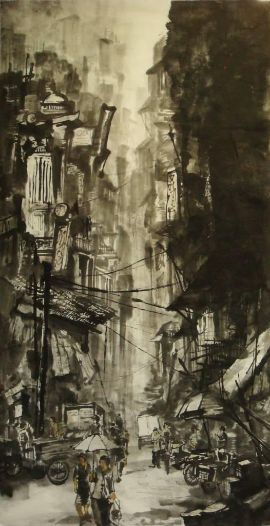 劉得興 - 都市系列14 - 街景