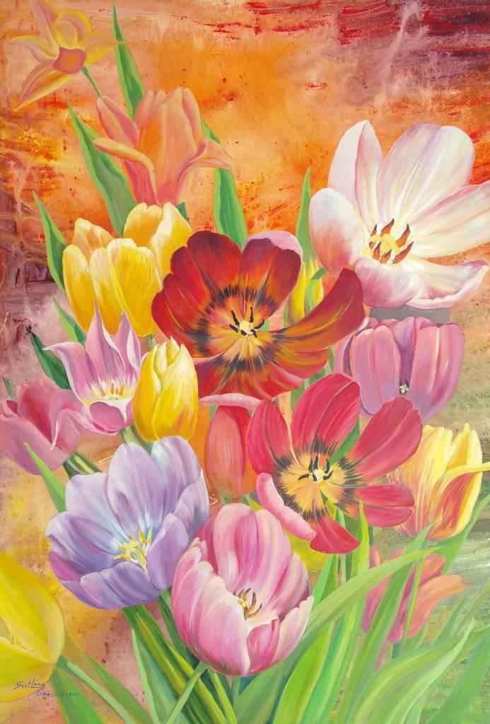 葛拉娜 - 鬱金香花束 Tulips bouquet