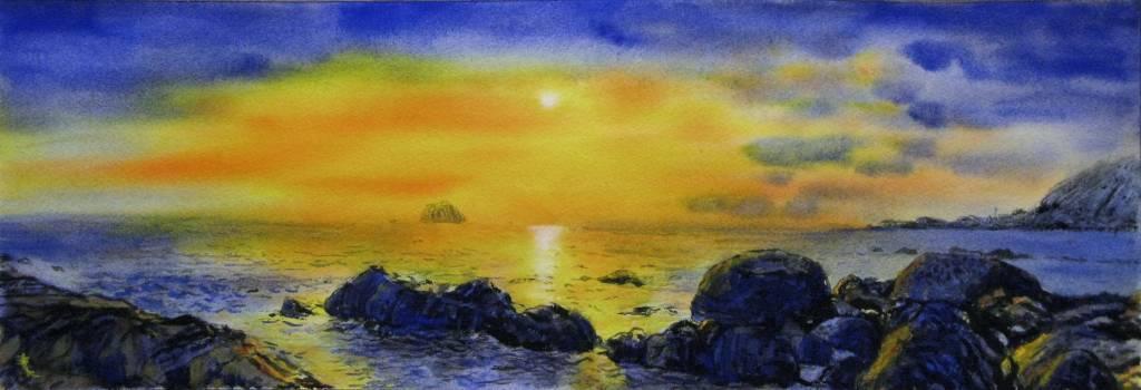王素 - 外木山之晨