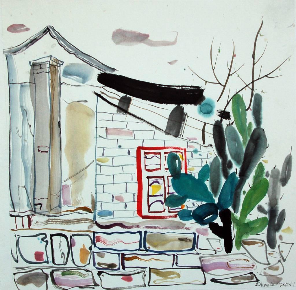 李琨波 - 有仙人掌的小屋