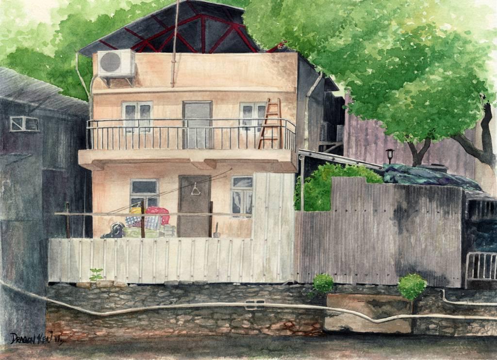 鄧子健  - 村屋