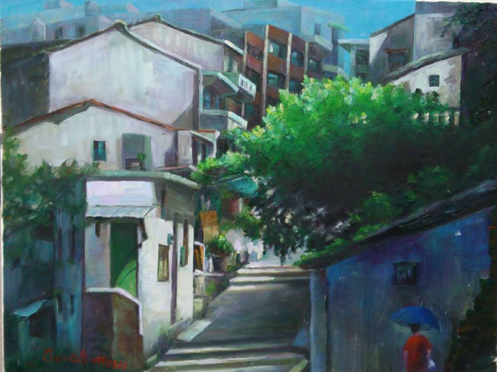 余素君 - 重建街-1