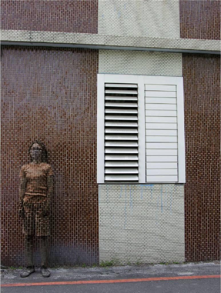 郭慧禪 - 褐磁磚  Brown Tile