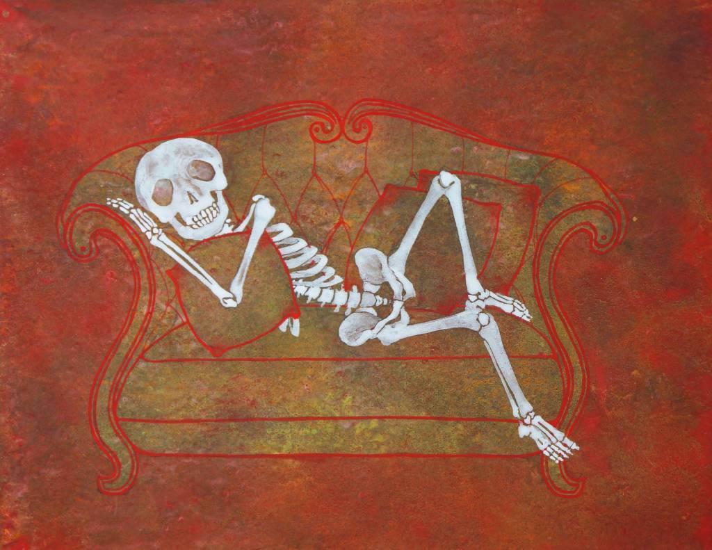 林玫伶 - 沙發懶骨頭
