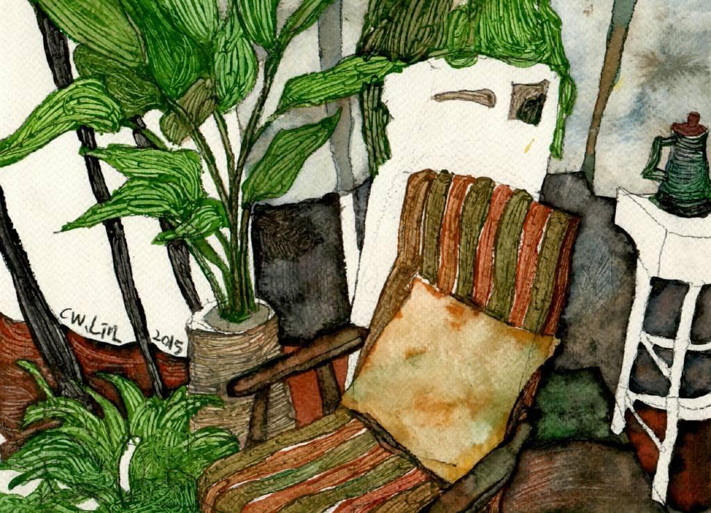林致維 - 室內風景的構圖
