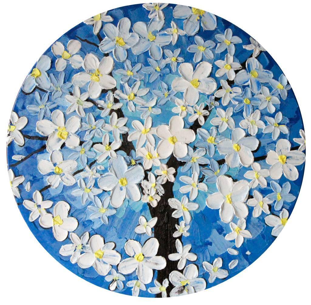 葛拉娜 - Spring blossom (blue)