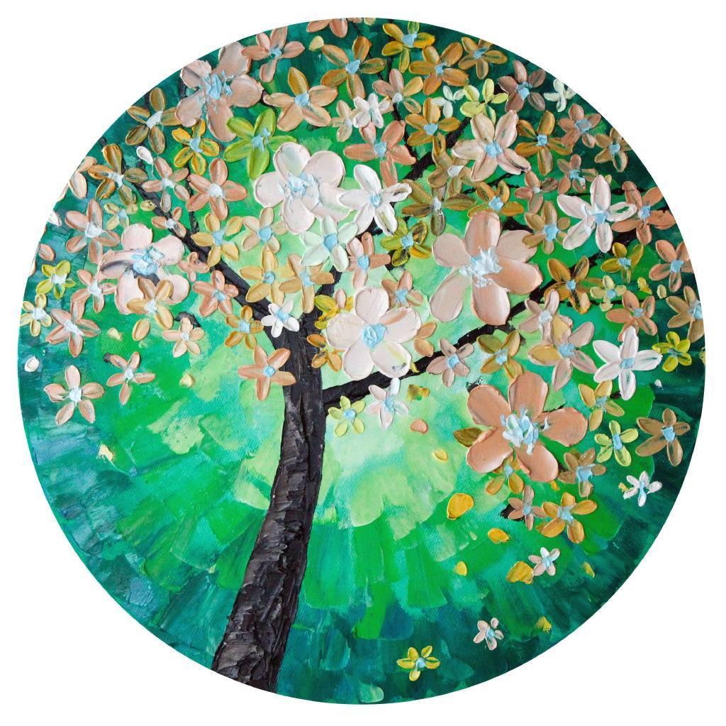 葛拉娜 - Spring blossom (green)
