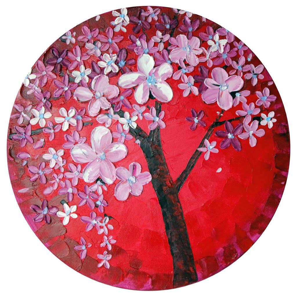葛拉娜 - Spring blossom (red)