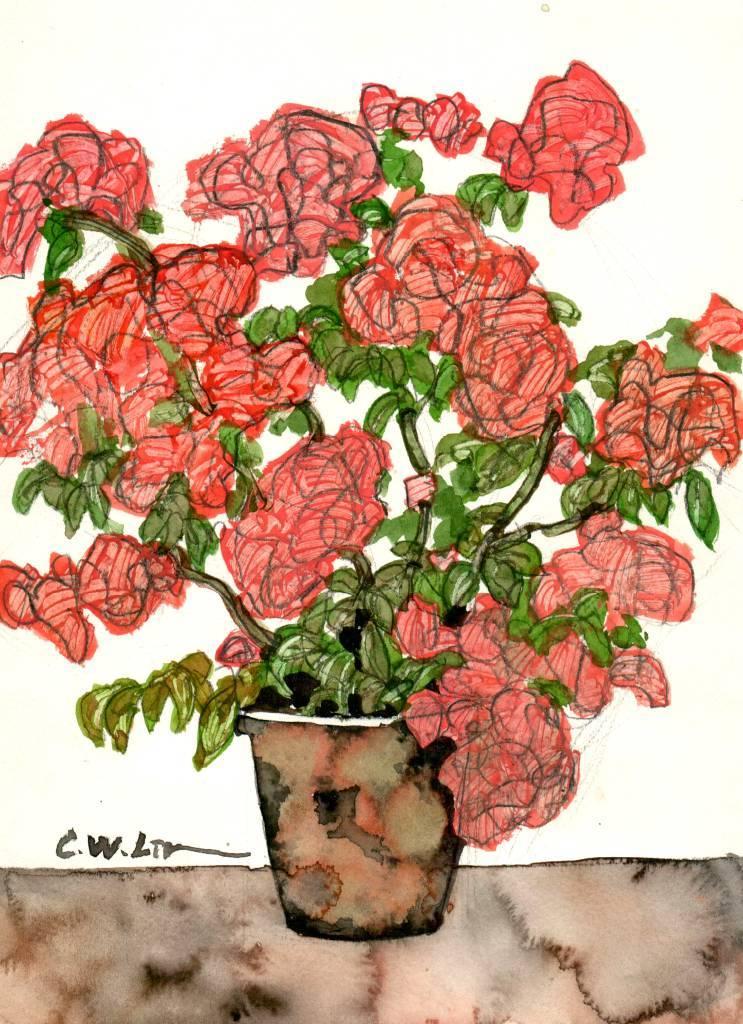 林致維 - 盛開的花瓶