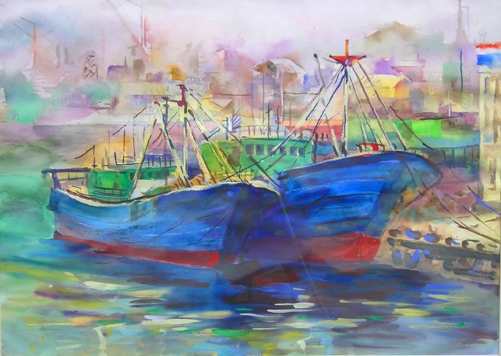 劉得興 - 大船入港