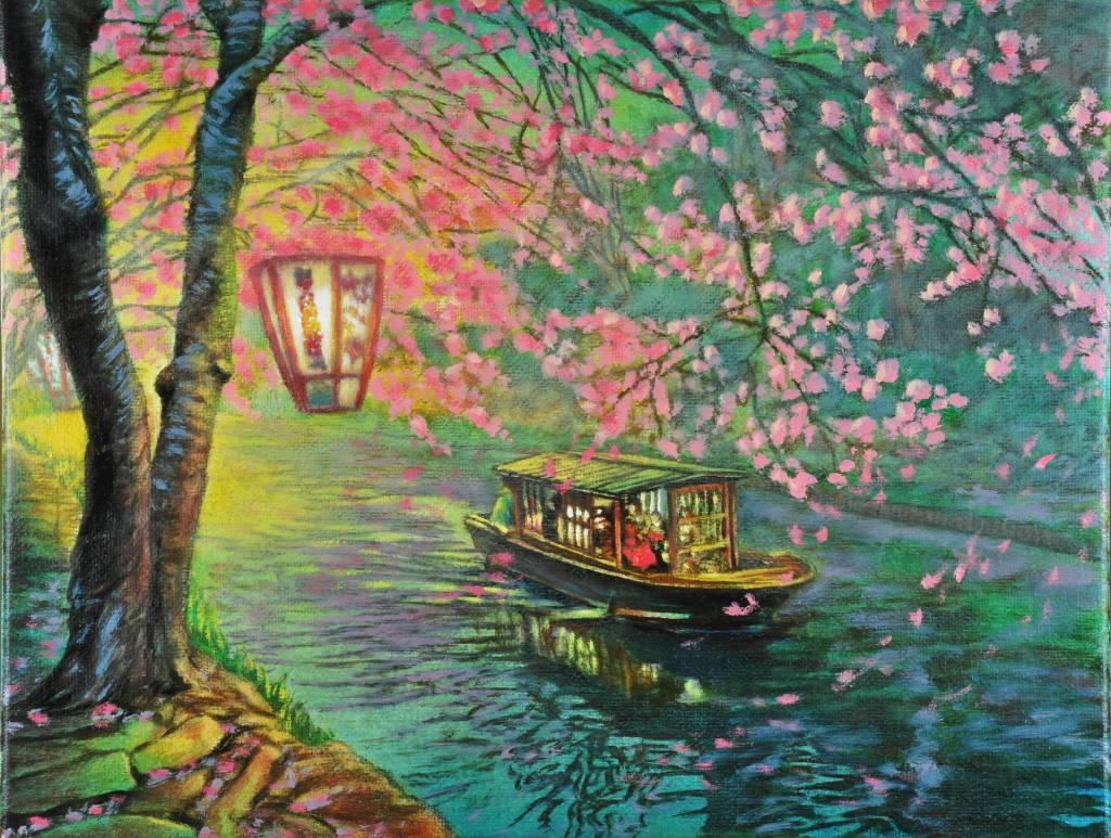 鍾民豐 - 近江八幡的春天