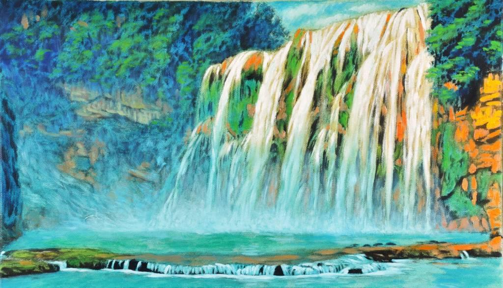 鍾民豐 - 黃果樹瀑布