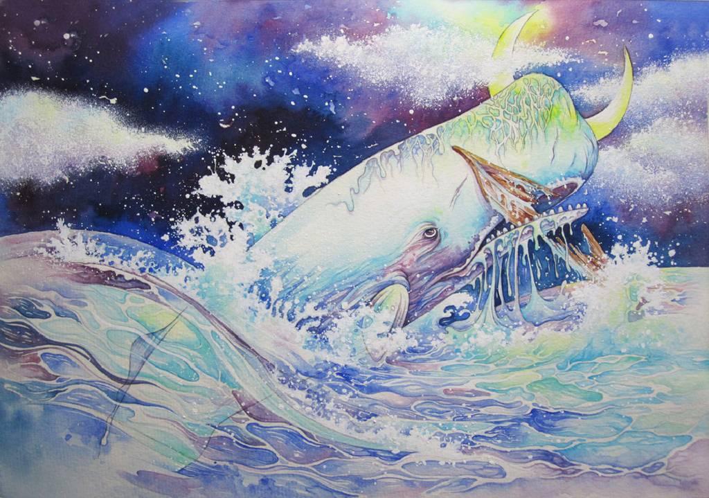 查理宛豬 - 淒麗地航向未知:《白鯨記》之一