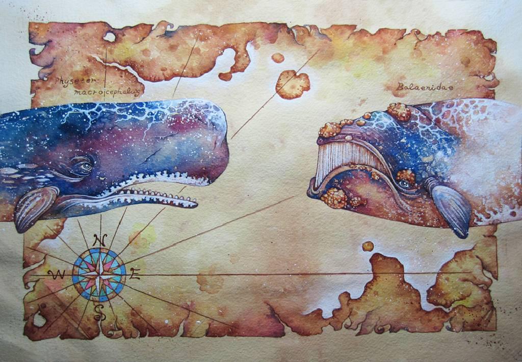 查理宛豬 - 淒麗地航向未知:《白鯨記》之二
