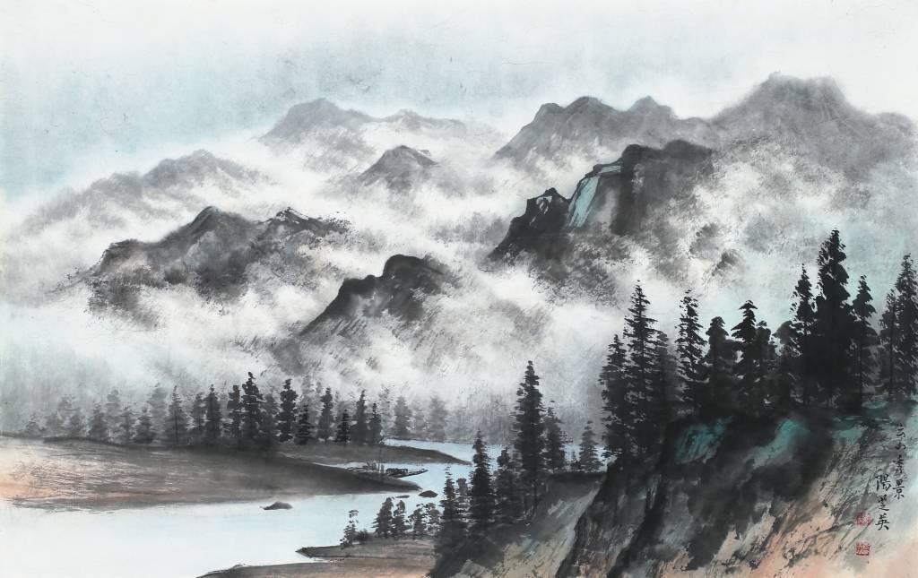 陽芝英 - 雲山秀景