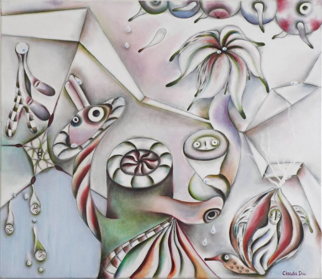杜元立 - 與夢共舞系列 (2)  扭曲