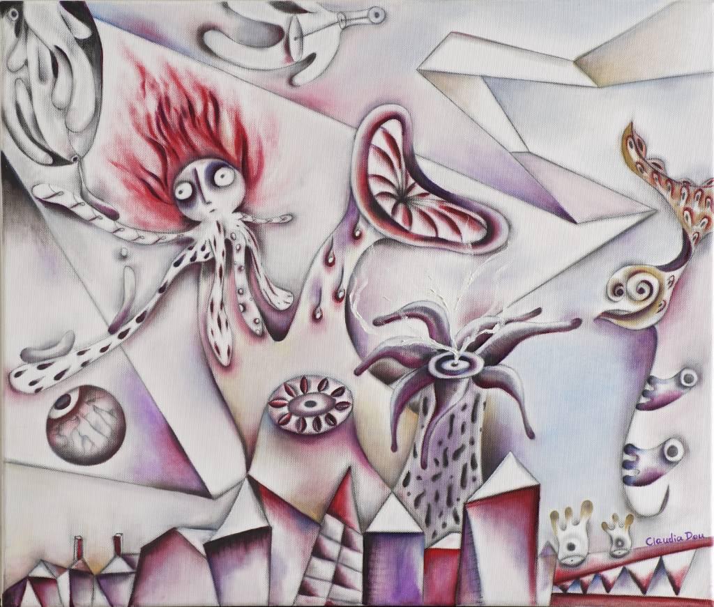 杜元立 - 與夢共舞系列 (3)  對抗
