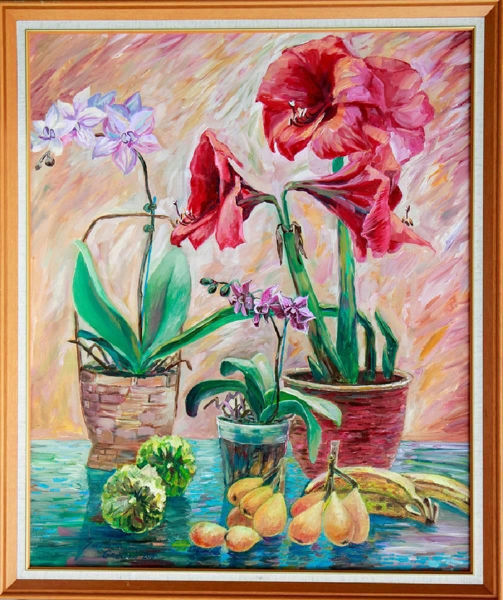 葛拉娜-水果與花 Fruits and flowers