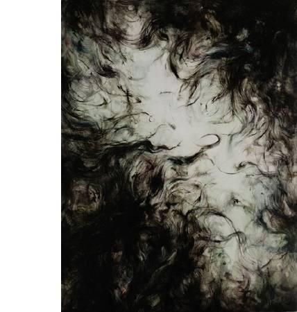 陳蔚 弱水三芊 布面油畫 80x60cm  2008