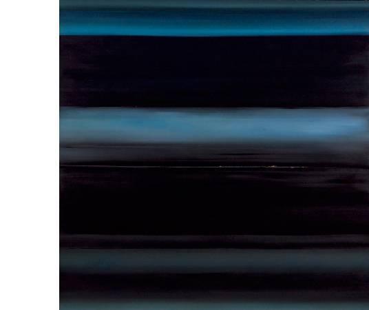 林壽宇 藍調 油畫 172x172cm 1958