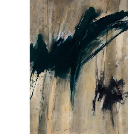 魏樂唐 抽象 布面油畫 1994