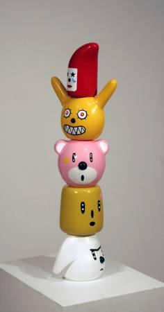 我心中的熊 (雕塑) 60cm hight 2009 FRP steel 玻璃纖維 鋼鐵