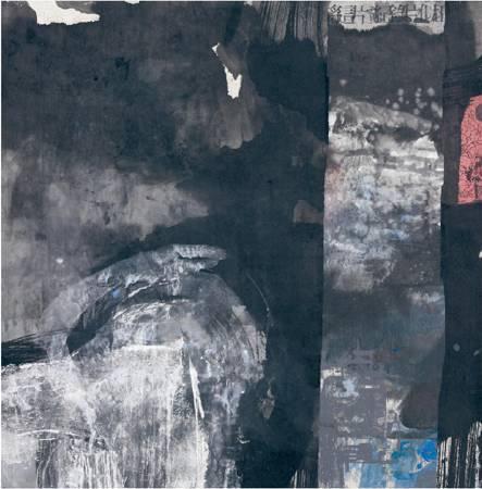 成竹在胸  複合媒材  90x90cm/2009