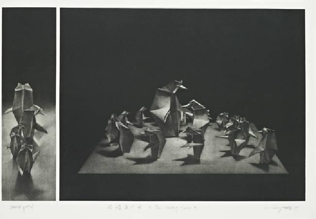 -結婚進行曲 40x60 cm 1999 -ed 35 全省美展第三名