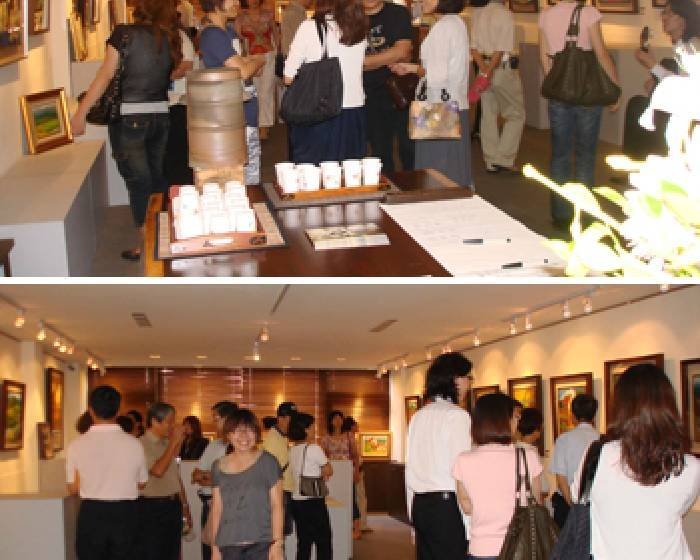 中國豐藝術會館【追尋六十六】劉洋哲油畫展