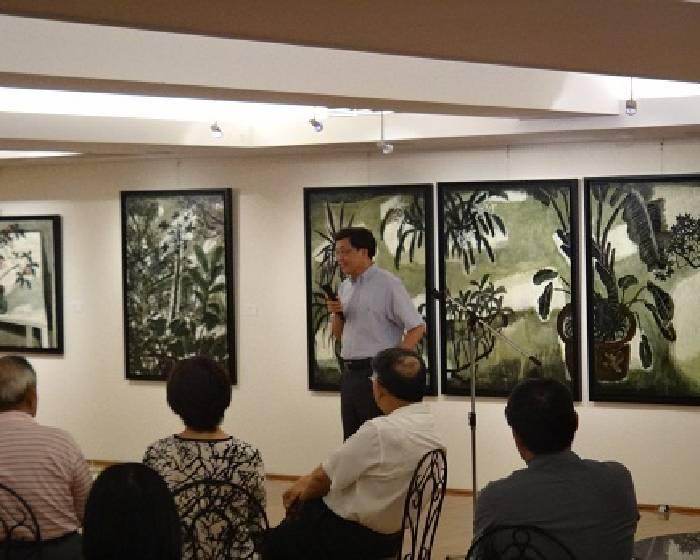 東籬畫廊【老院子及黑桌靜物】2011兩岸繪畫個展