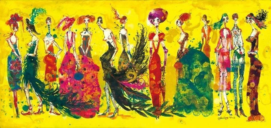 洋娃娃進行曲2號,77 x 36.2 cm,2008