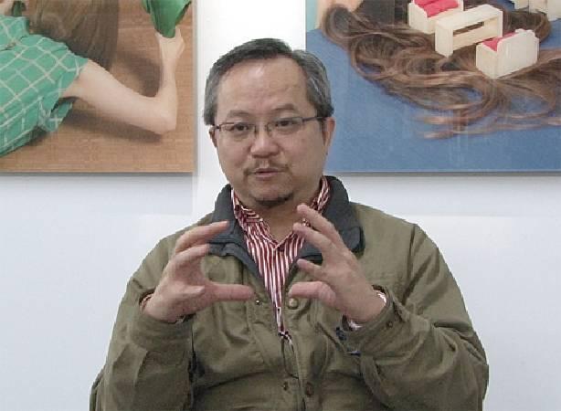 張學孔認為,藝術銀行要兼具市場性與學術性,才能穩定協助台灣藝界發展。