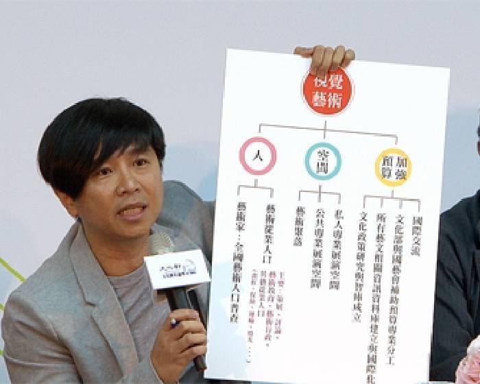 胡朝聖:做人口普查 了解藝術生態【文化國是會議系列報導】