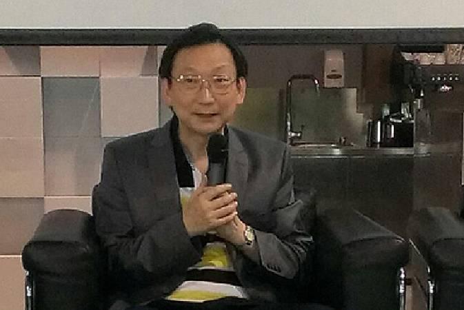 帝圖集團董事長劉熙海。圖/非池中藝術網