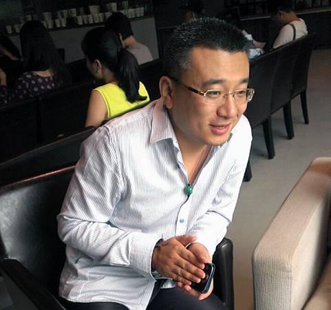 雅昌藝術網總經理朱文軼。圖/非池中藝術網