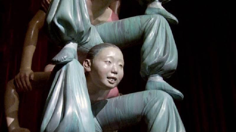 向京《無限柱》。圖/非池中藝術網攝。