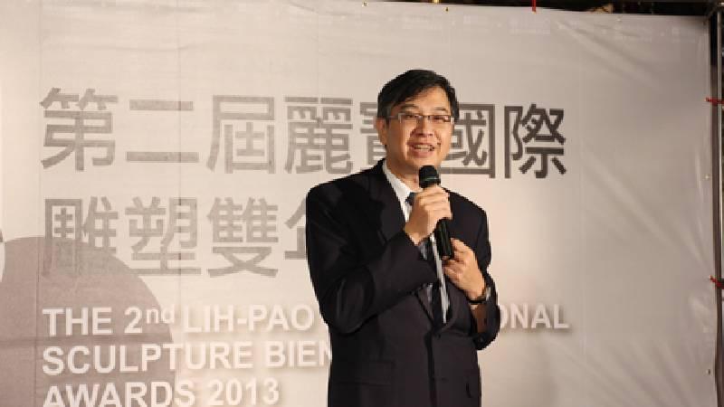麗寶文化藝術基金會執行長何昭宏。圖/非池中藝術網攝