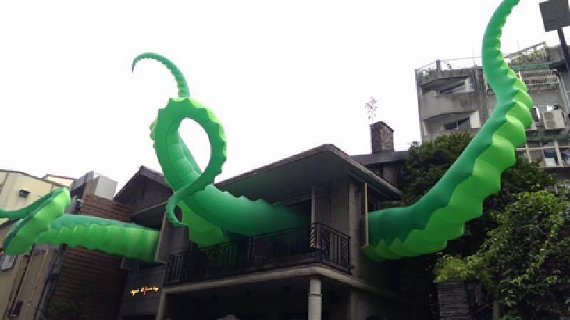 《章魚佔領》。圖/非池中藝術網攝。