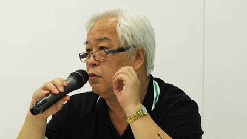 長榮大學書畫藝術學系教授熊宜敬。圖/非池中藝術網。