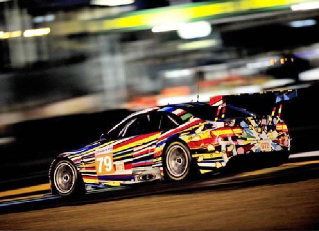 傑夫‧昆斯,《Art Car》。圖/取自BMW Art Car。
