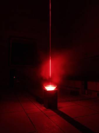 皮耶-亞蘭‧傑夫荷努,《天使的墜落》,圖/北美館提供。
