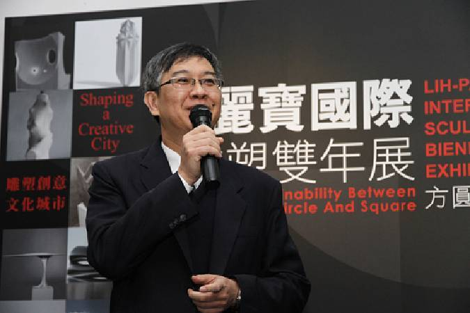 麗寶文化藝術基金會執行長何昭宏。圖/非池中藝術網攝。