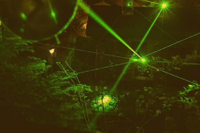 莊志維,〈裝置微光計畫:附生〉。圖/寶藏巖國際藝術村提供。