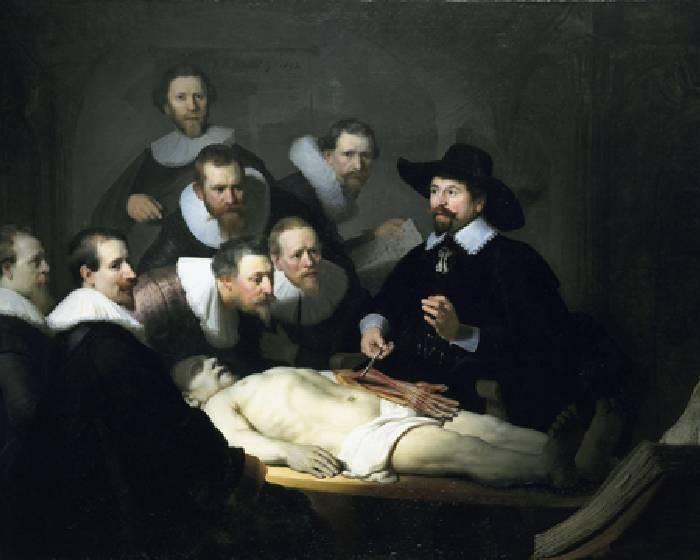 林布蘭,杜爾博士的解剖學課 【看Youtube學藝術系列】