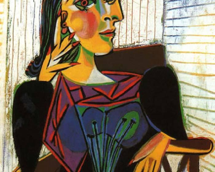 畢卡索:坐著的朵拉‧馬爾 【看Youtube學藝術系列】