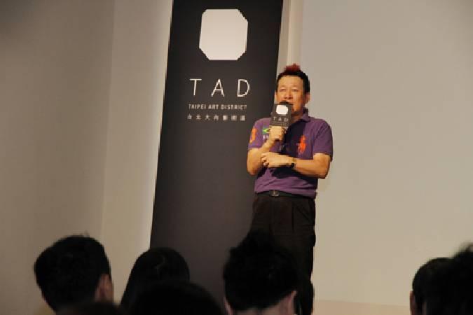 中華民國畫廊協會理事長張逸群。圖/非池中藝術網攝。