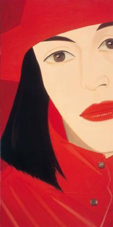 Alex Katz,《Red Coat》。