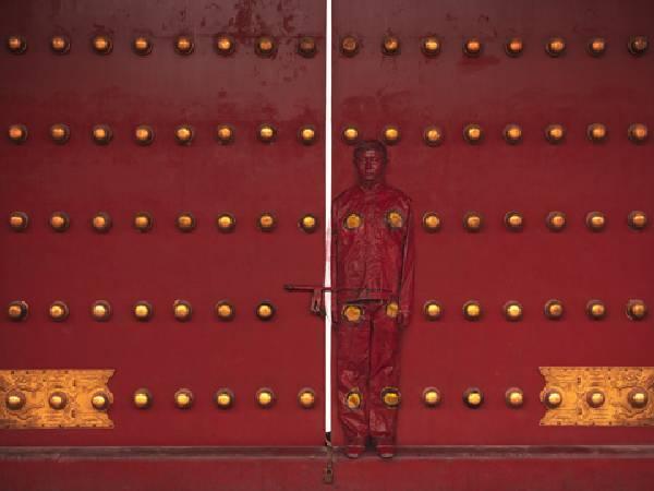 劉勃麟,《Red Door》。圖/台北藝博會提供。