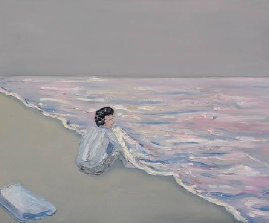 《如果我能抱妳 If I Could Hug You》, 油彩、畫布 2011。